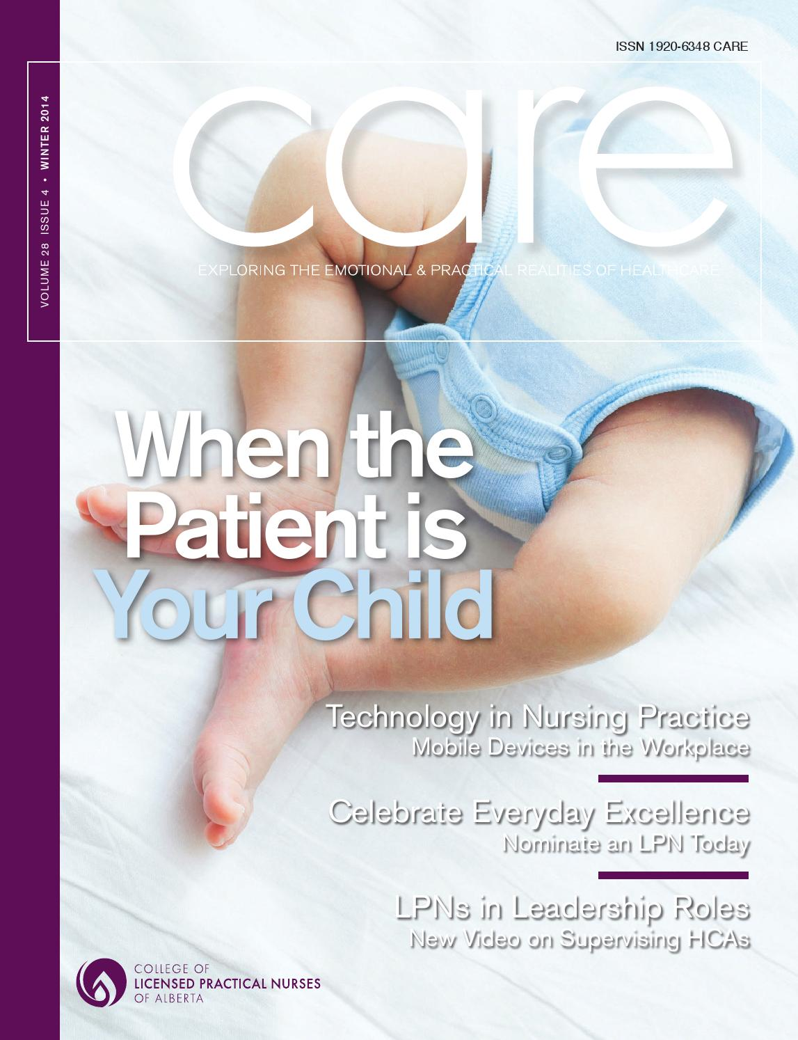 Care winter 2014 college of licensed practical nurses of care winter 2014 college of licensed practical nurses of alberta by college of licensed practical nurses of alberta issuu aiddatafo Images