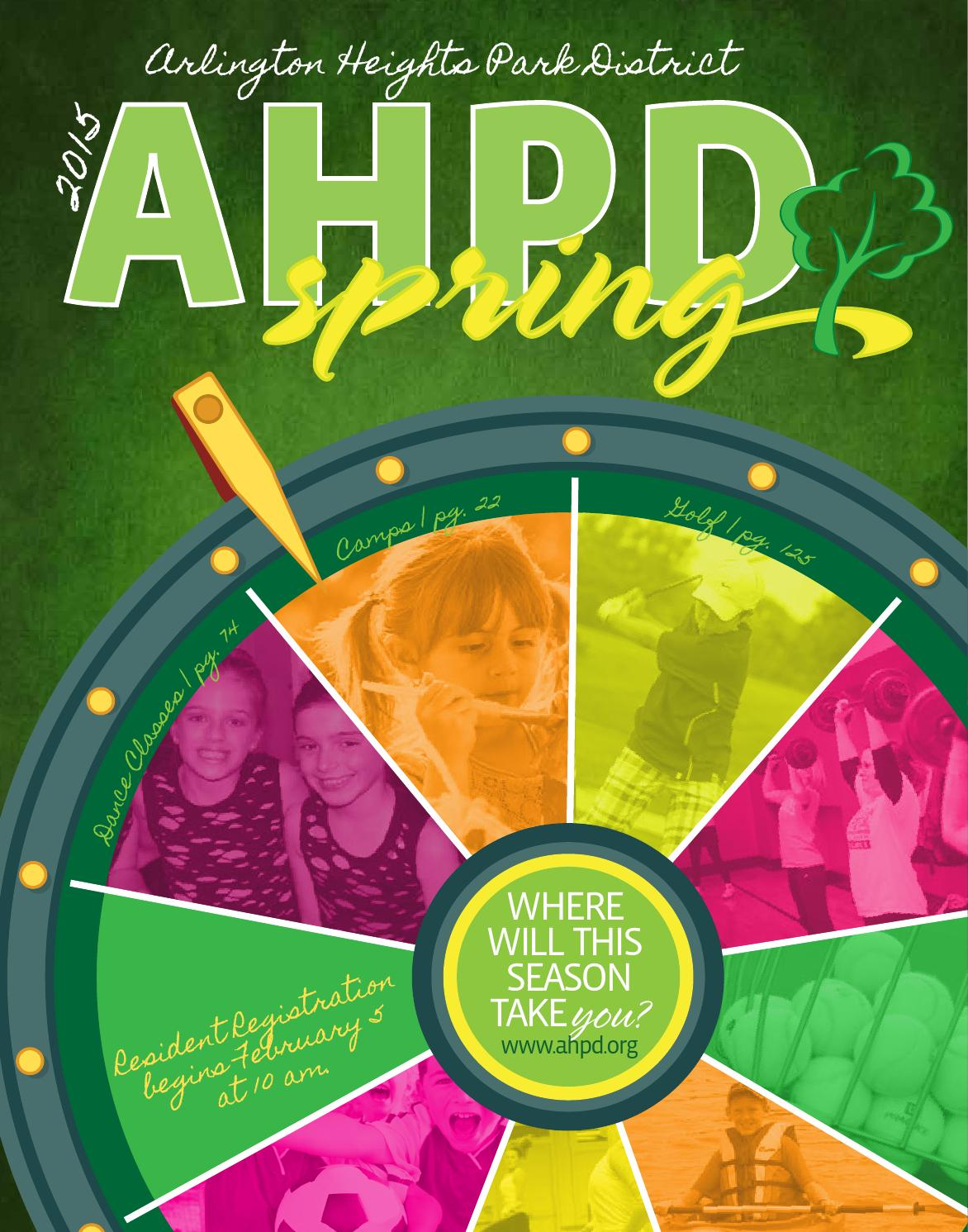 Arlington Heights Park District's Spring 2015 Interactive