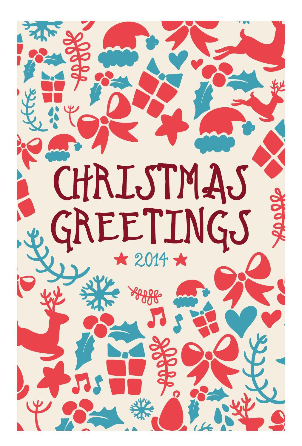 The Leader' Barossa Valley Christmas Greetings 2014 by The Leader