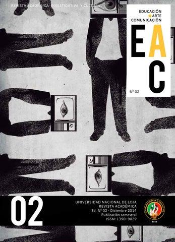revista quoteducaci243n arte y comunicaci243nquot no2 by javier