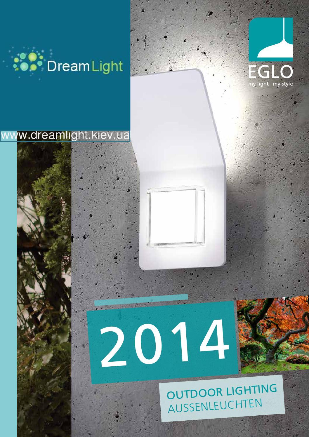 EGLO 93516 Aloria LED Wandleuchte 7 W Garten Außenlampen Schwarz Warmweiß GX53