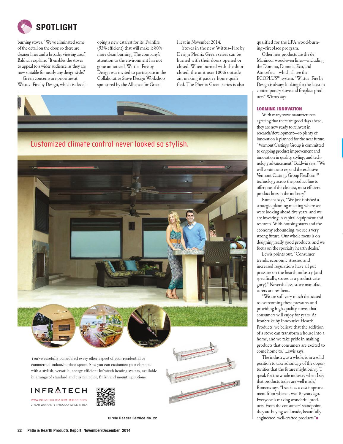 Patio & Hearth Products Report November/December 2014