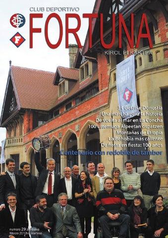 Revista Fortuna Nº29 2012 By Cd Fortuna Ke Issuu