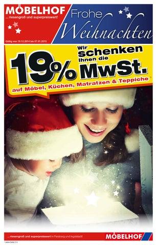 Moebelhof Ingolstadt Prospekt Kw51 2014 By Perspektive Werbeagentur
