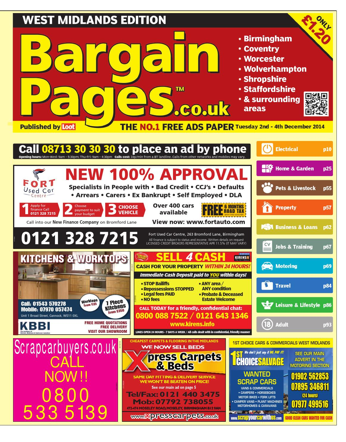 Bargain Pages Midland 2nd December 2014 By Loot Issuu Am Post Subject Speedometer Wiring Diagram 1974 And Later Sb Vert