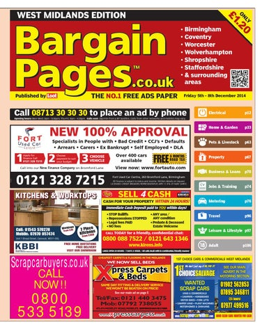 0fac9d54f Bargain Pages Midlands 5th December 2014 by Loot - issuu