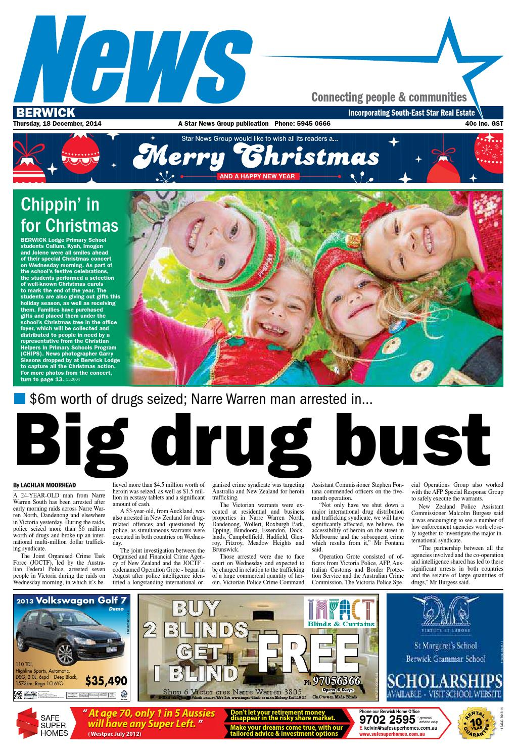 9df6d12cd3ea68 News - Berwick - 18th December 2014 by Star News Group - issuu