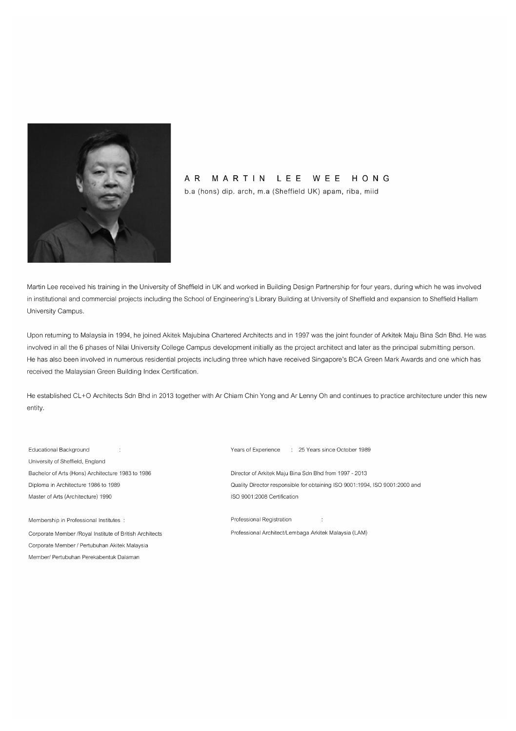 Biodata Essay Compilation By Rj Wong Issuu