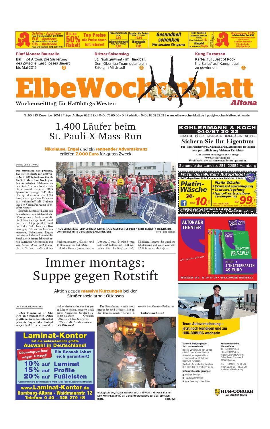 Altona KW50-2014 by Elbe Wochenblatt Verlagsgesellschaft mbH & Co.KG - issuu