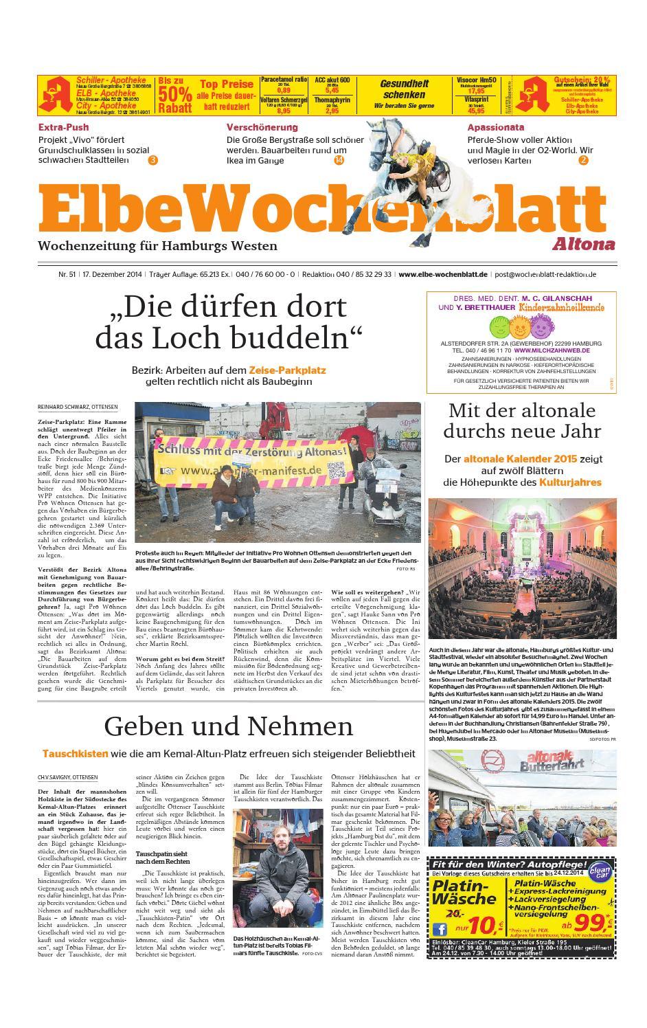 Altona KW51-2014 by Elbe Wochenblatt Verlagsgesellschaft mbH & Co.KG ...
