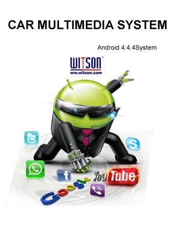 Android 4 4 Manual UI 1 by ZHUHAI WITSON INDUSTRIAL CO , LTD  - issuu