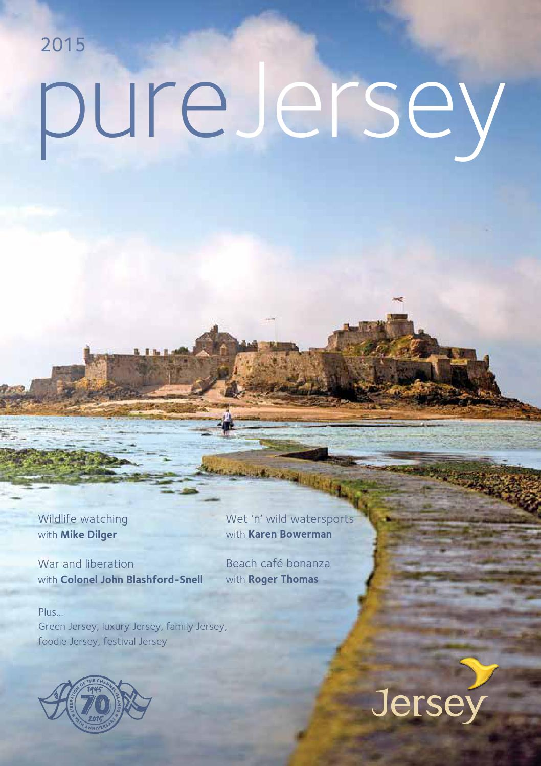 c7903b02cd0 Pure Jersey Holiday Brochure 2015 by Visit Jersey - issuu