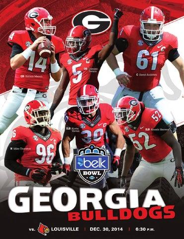 b6ffe8ab 2014 Georgia Bulldogs Bowl Guide by Georgia Bulldogs Athletics - issuu