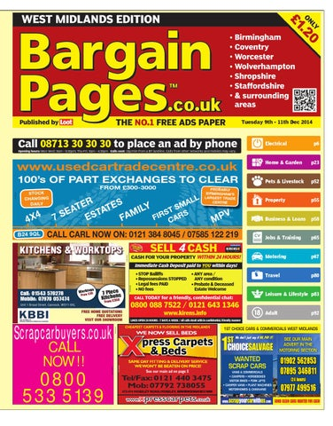 Bargain Pages West Midlands 623bebb0be