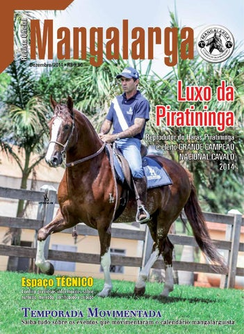4cb0962cb2b Revista Mangalarga - Dezembro 2014 by abccrm angalarga - issuu