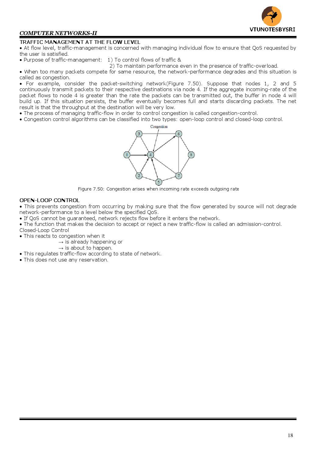 Traffic Engineering Notes Vtu