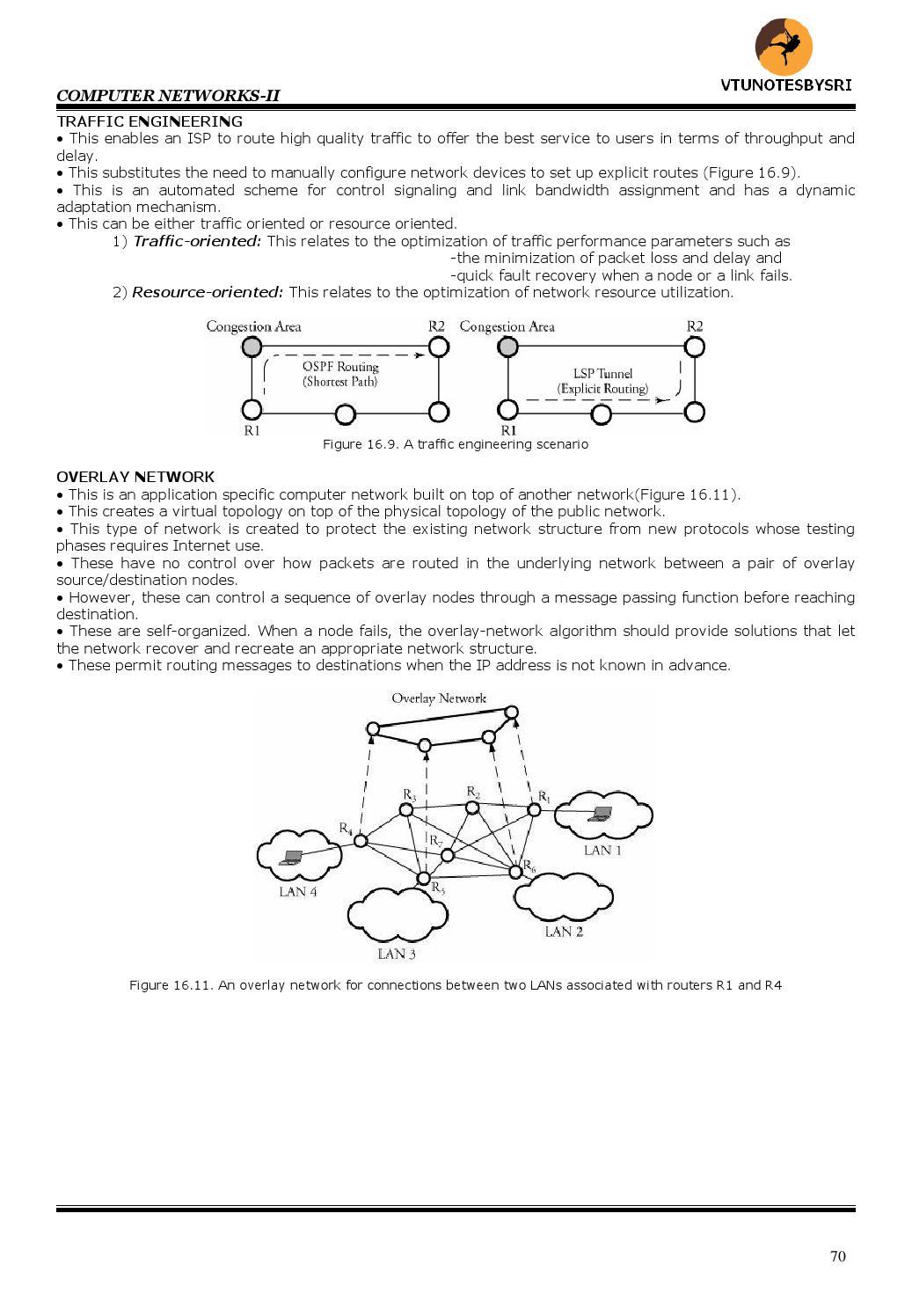 VTU 6TH SEM CSE COMPUTER NETWORKS 2 NOTES 10CS64 by VTUNOTESBYSREE