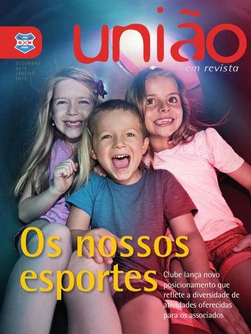350d126107 União em Revista - Dezembro 14 Janeiro 15 by Grêmio Náutico União ...