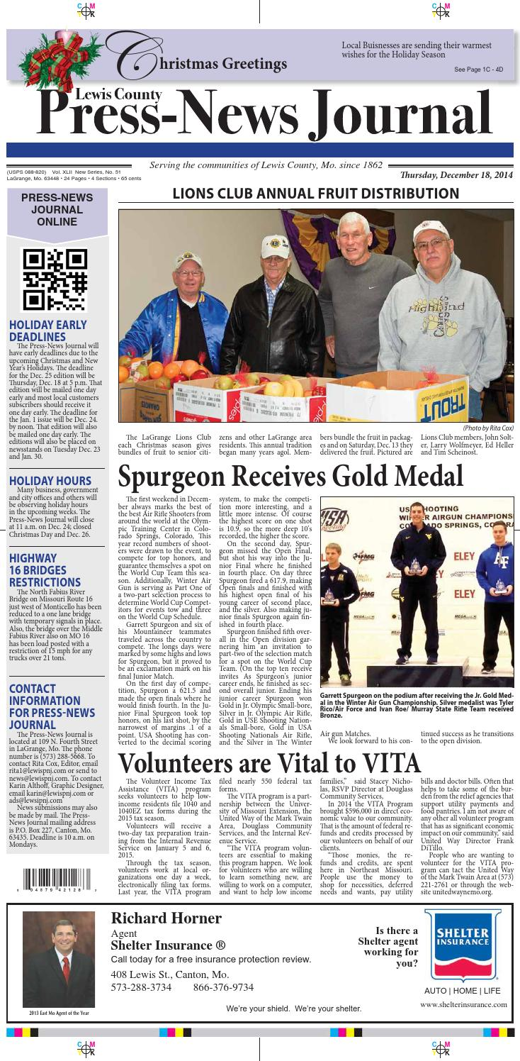 Press news journal 12 18 14