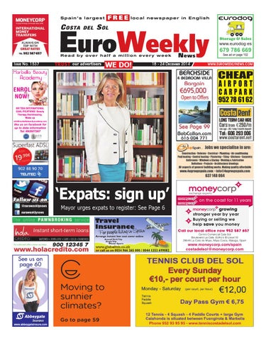 b60810e36e2f Euro Weekly News - Costa del Sol 18 - 24 December 2014 Issue 1537 by ...