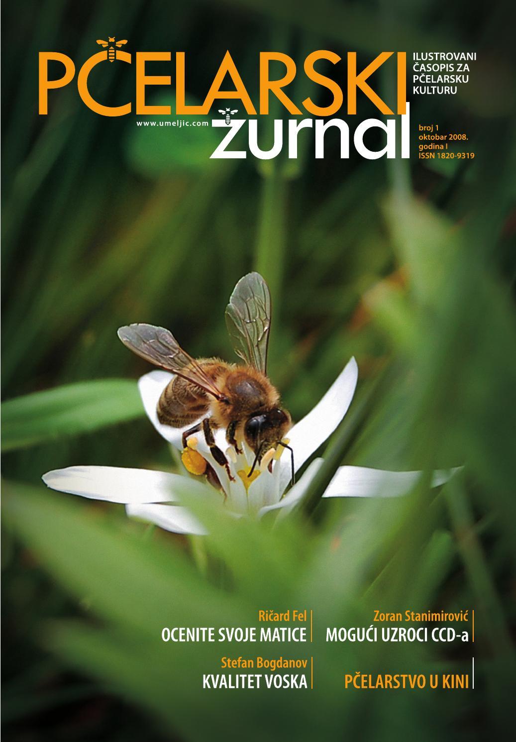 Pčelarski žurnal br  1 (oktobar-decembar 2008 ) by PČELARSKI