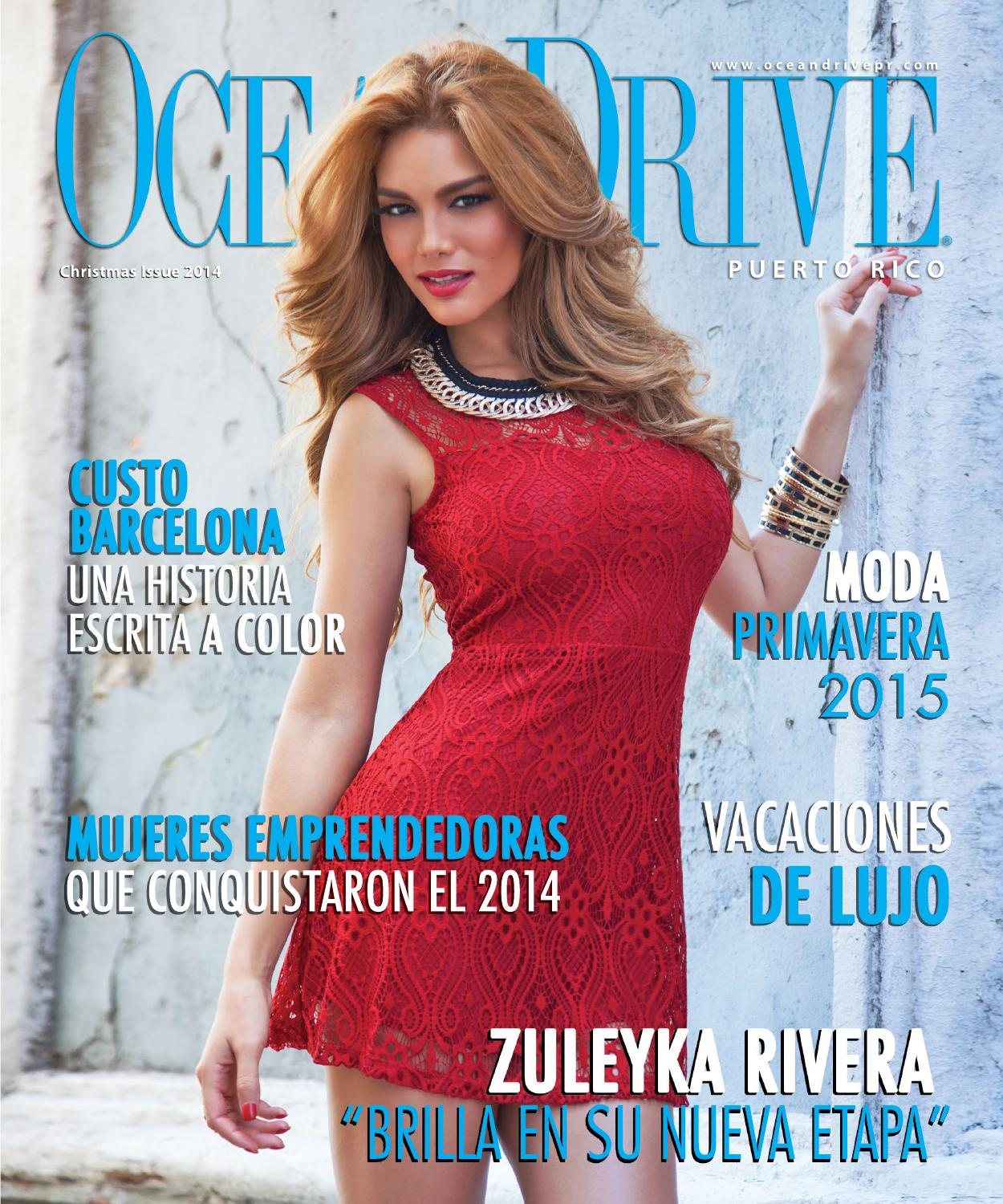 2b15c4413 Ocean Drive Puerto Rico Christmas Issue 2014 by OHIVAS
