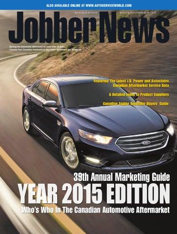 Jobber News Annual Marketing Guide 2015 by Annex-Newcom LP - issuu