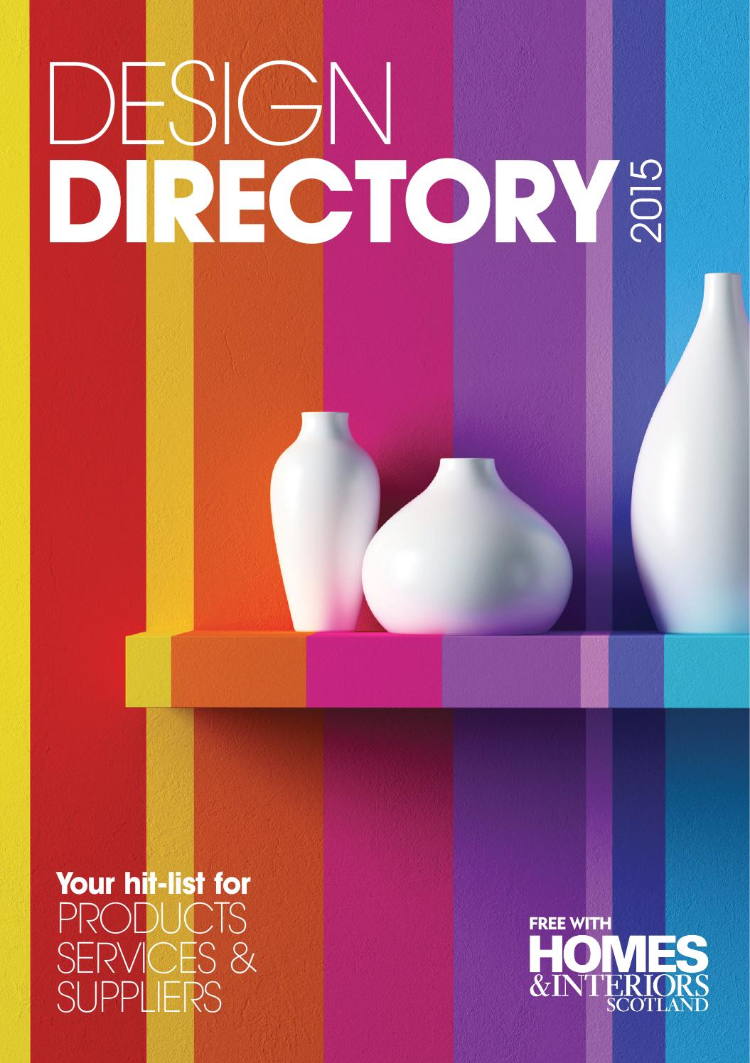 Design directory 2015 by peebles media group issuu for Designer directory