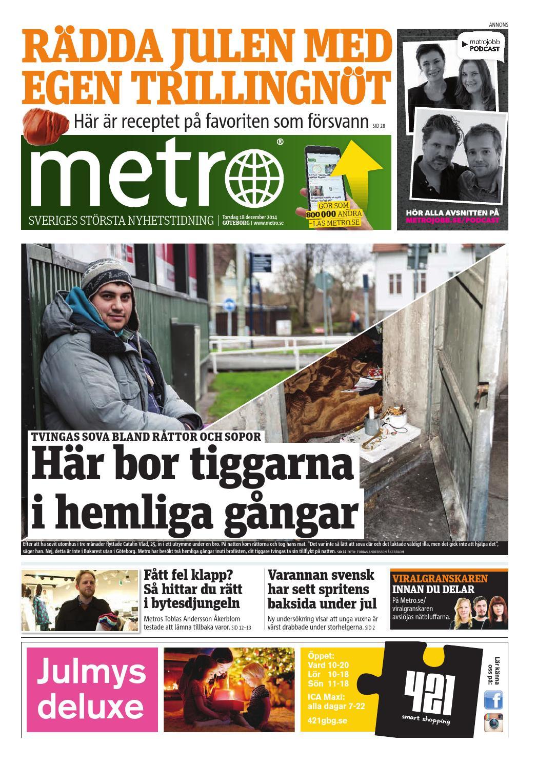 d6a1e5a17b56 20141218_se_goteborg by Metro Sweden - issuu