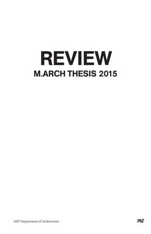 The MIT Thesis templates for LaTeX