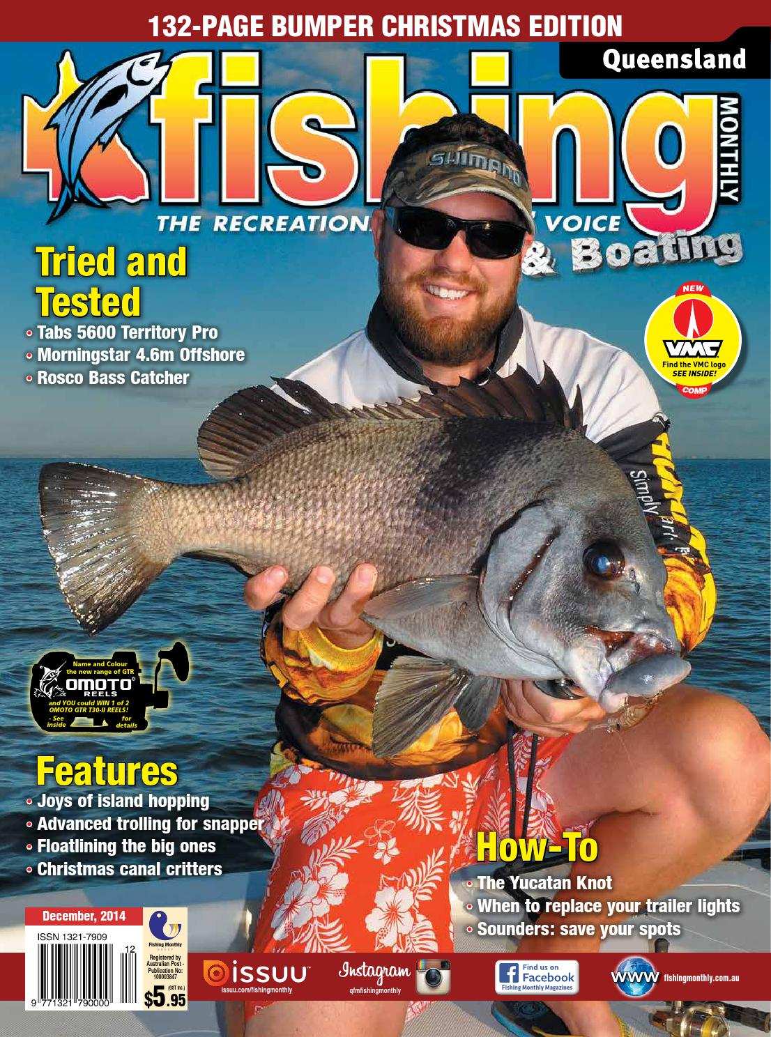 Queensland Fishing Monthly - December 2014 by Fishing