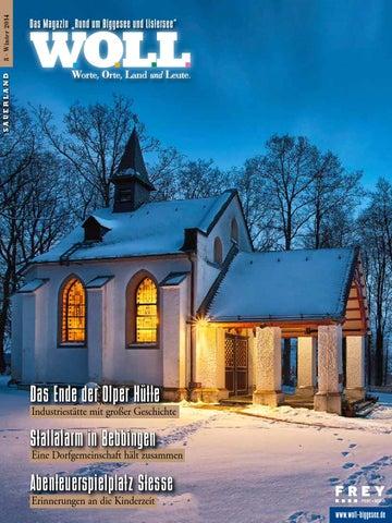 WOLL Magazin U2013 Rund Um Den Biggesee U2013 Ausgabe 8 By FREY PRINT + ...