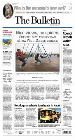 promo code 69124 6e712 Bulletin Daily Paper 12-18-14 by Western Communications, Inc