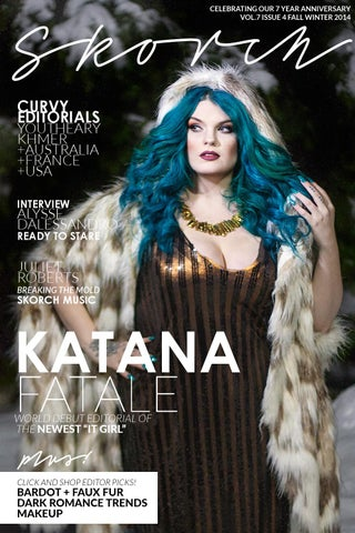 a76a02055cfe9 Skorch Plus Size Fashion Magazine    Winter 2014 Vol 7 Issue 4. Celebrating  it s 7th year as a ...