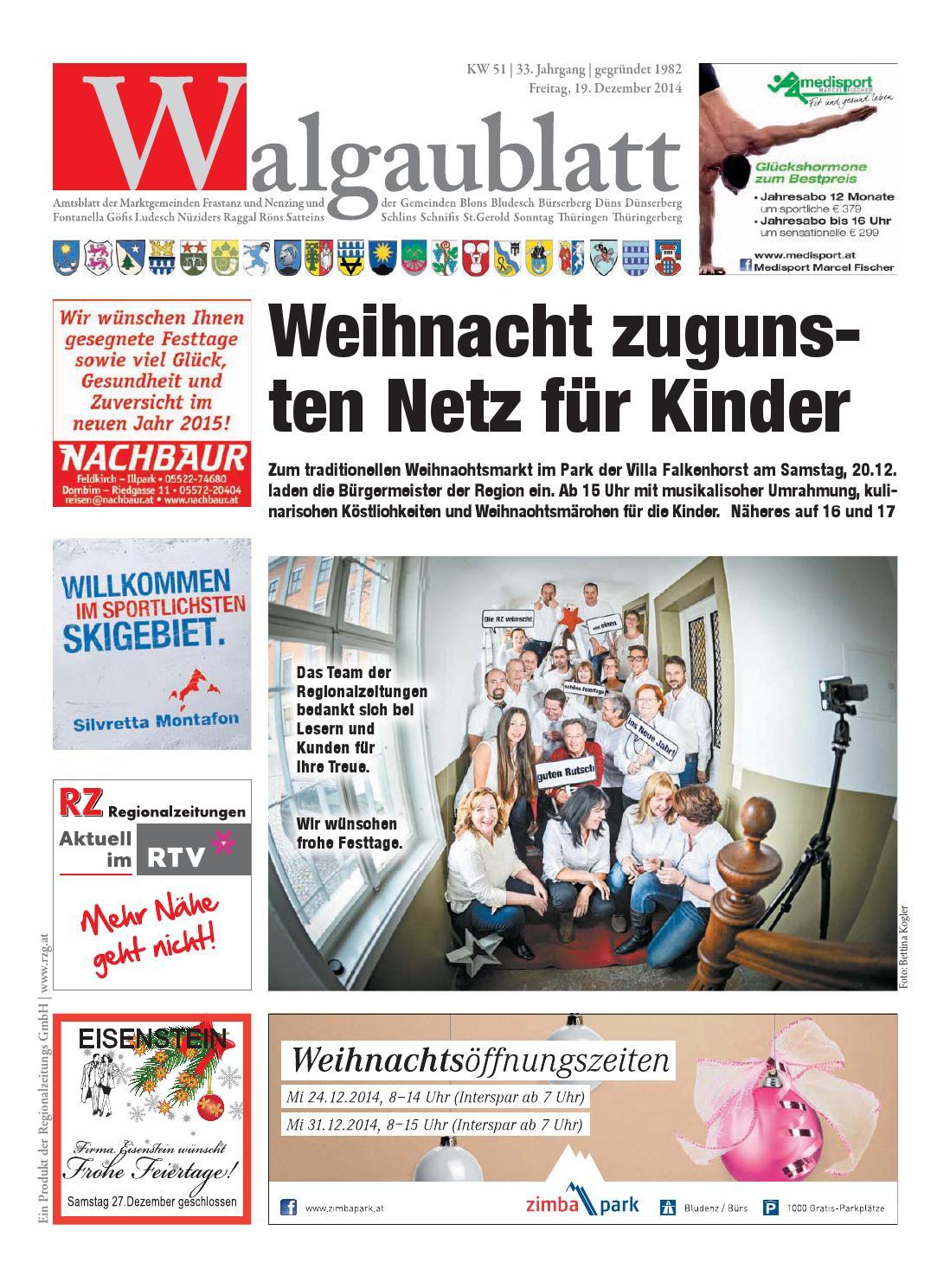 Walgaublatt 51 by Regionalzeitungs GmbH - issuu