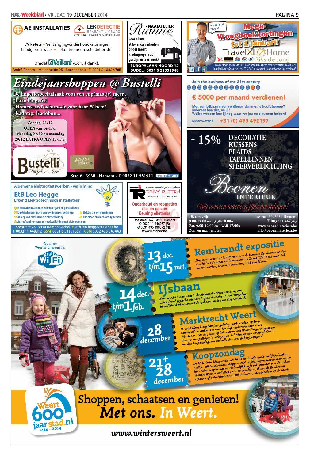 HAC Weekblad week 51 2014 by HAC Weekblad - issuu