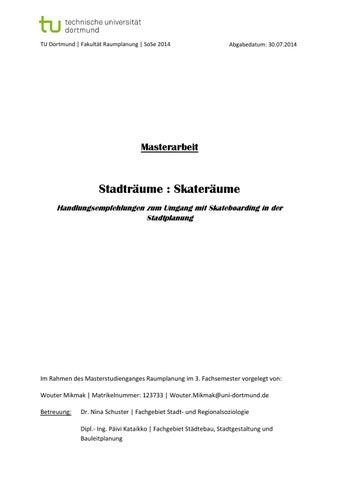 ec4459e044c7d8 Stadträume   Skateträume – Handlungsempfehlungen zum Umgang mit ...
