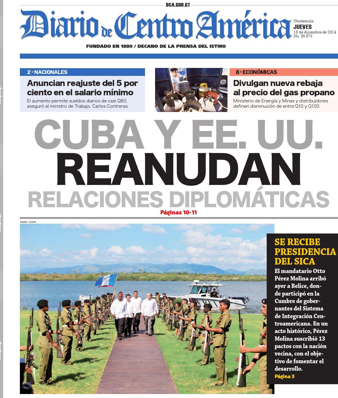 Diario de Centro América 18 de diciembre de 2014 by Diario de Centro ...