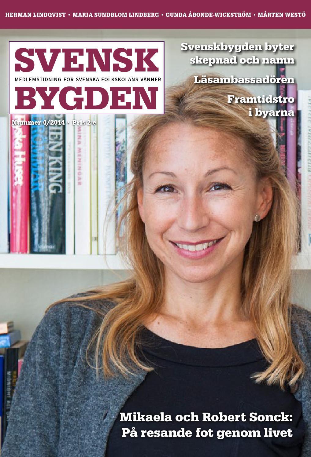 Svenskbygden 4 2014 by Svenska folkskolans vänner - issuu 22d2b7fb32646