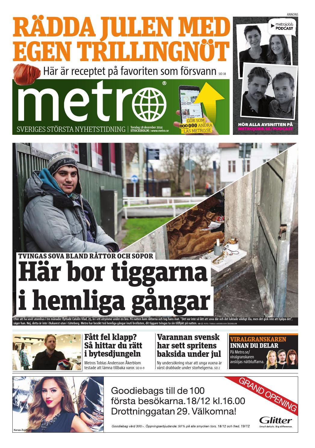20141218 se stockholm by Metro Sweden - issuu 3e87747976bec