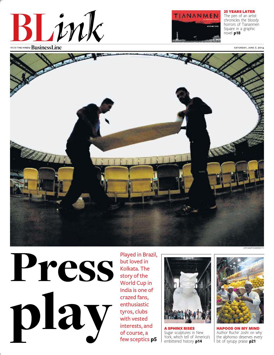 Blink Issue 20 June07 2014 By Partha Pratim Sharma Portfolio