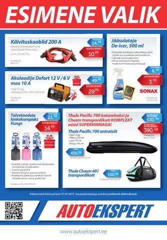 8122ead19dd Autoeksperdi kampaania / 2014 talv by Autoekspert - issuu