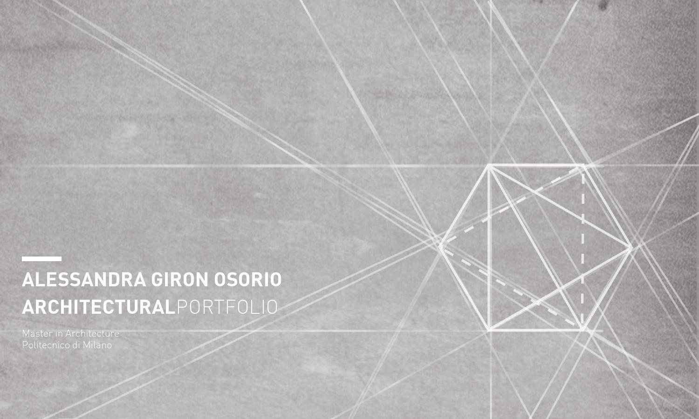 Architecture Portfolio By Alessandra Giron Issuu
