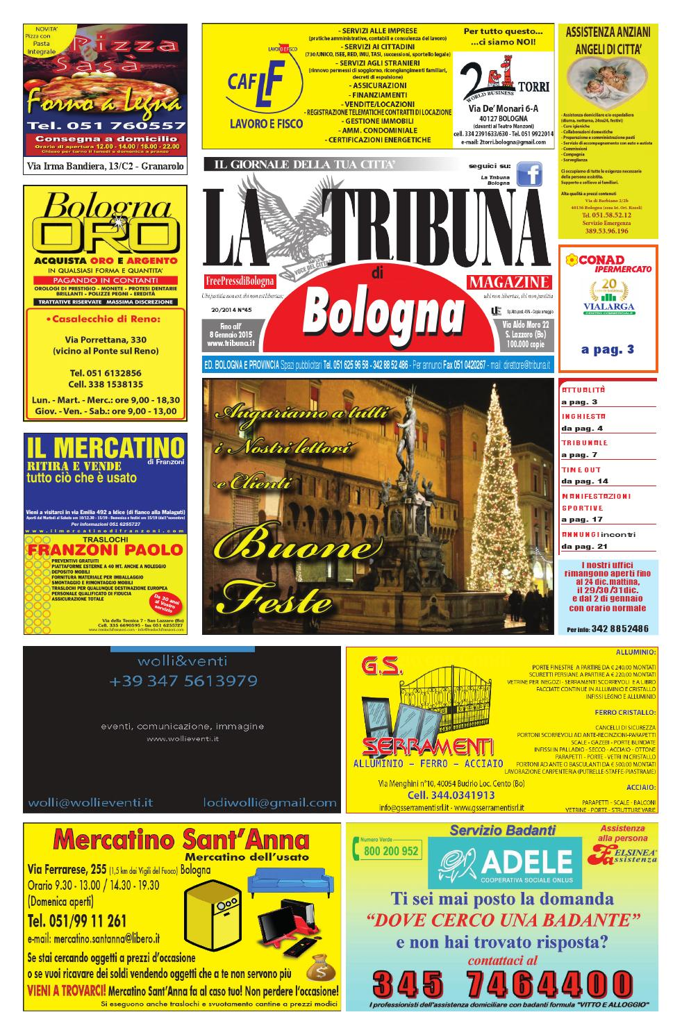 45 Tribuna Dic '14 Gen '15 by La Tribuna srls issuu