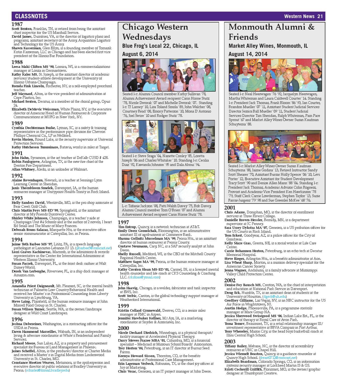 Western News - Winter 2014 by Western Illinois University