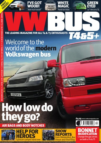 6ff8a09f416d VW Bus T4 5+ Issue 1 by David Gamble - issuu