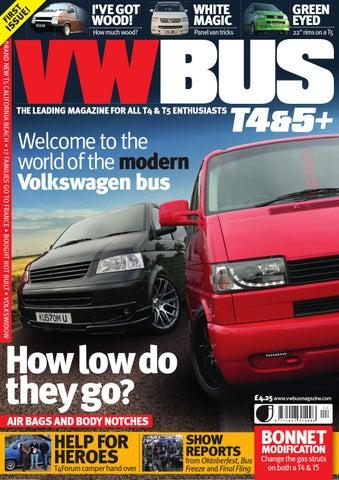 0c10b267b4 VW Bus T4 5+ Issue 1 by David Gamble - issuu