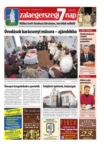 Zalaegerszegi 7 Nap - 2014. 12. 19. by Maraton Lapcsoport Kft. - issuu fd6b110c18