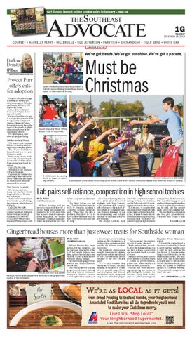 the southeast advocate 12 18 14 by the advocate   issuu