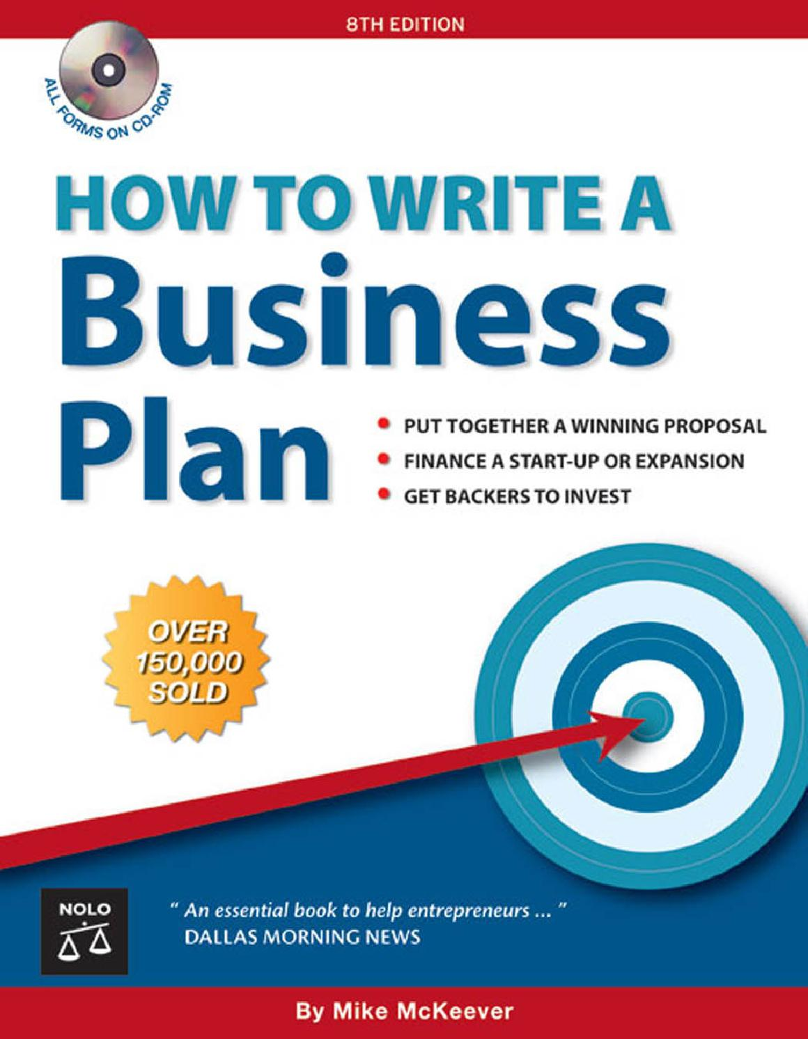 How write a business plan